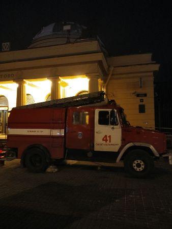 Плановые пожарно-тактические учения на станции Автово