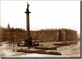 вид на Александрийскую колонну
