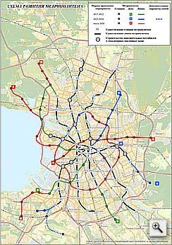 схема метро санкт петербурга 2020
