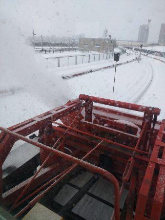 Снегоуборочная техника метрополитена